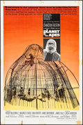 "Movie Posters:Science Fiction, Planet of the Apes (20th Century Fox, 1968). One Sheet (27"" X 41"").Science Fiction.. ..."