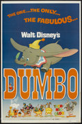 "Movie Posters:Animated, Dumbo (Buena Vista, R-1972). One Sheet (27"" X 41""). Animated...."