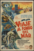 "Movie Posters:Adventure, Voyage to the Bottom of the Sea (20th Century Fox, 1961).Argentinean Poster (29"" X 43""). Adventure...."
