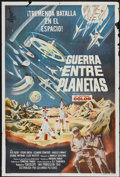 "Movie Posters:Science Fiction, Battle in Outer Space (Columbia, 1960). Argentinean Poster (29"" X43""). Science Fiction...."