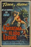 "Movie Posters:Science Fiction, The Phantom From 10,000 Leagues (American Releasing Corp., 1955).Argentinean Poster (29"" X 43""). Science Fiction...."