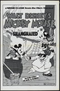 "Movie Posters:Animated, Shanghaied (Buena Vista, R-1974). One Sheet (27"" X 41"").Animated...."