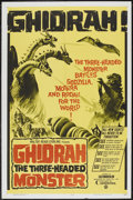 "Movie Posters:Science Fiction, Ghidrah, the Three-Headed Monster (Continental, 1965). One Sheet(27"" X 41""). Science Fiction...."