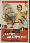 "Movie Posters:Adventure, Botany Bay (Paramount, 1953). Argentinean Poster (29"" X 43"").Adventure...."