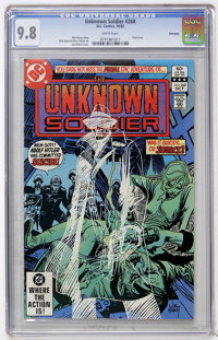 Unknown Soldier #268 Winnipeg pedigree (DC, 1982) CGC NM/MT 9.8 White pages