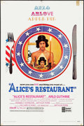 Movie Posters:Comedy, Alice's Restaurant (United Artists, 1969). Folded, Fine/Ve...