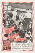 """Movie Posters:Rock and Roll, Hey, Let's Twist (Paramount, 1962). Folded, Very Fine-. One Sheet(27"""" X 41""""). Rock and Roll.. ..."""