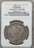 1888-S $1 -- Improperly Cleaned -- Details NGC. VG. NGC Census: (25/5088). PCGS Population: (28/8569). CDN: $85 Whsle. B...