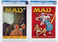 Magazines:Mad, MAD #32 and 37 CGC-Graded Group (EC, 1957-58). ... (Total: 2 )
