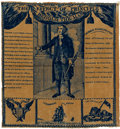 Political:Textile Display (pre-1896), George Washington: Early Commemorative Textile. ...