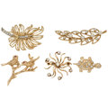 Estate Jewelry:Brooches - Pins, Diamond, Cultured Pearl, Ruby, Gold Brooches . ... (Total: 5 Items)