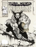 Original Comic Art:Covers, Sam Kieth Marvel Comics Presents #85 Cover Wolverine Original Art (Marvel, 1991)....