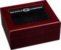 Football Collectibles:Others, 2010 Green Bay Packers Josten's Super Bowl Ring (Staff) Display Box. ...