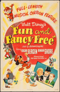 "Movie Posters:Animation, Fun and Fancy Free (RKO, 1947). One Sheet (27"" X 41""). Animation.. ..."