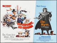 No Deposit, No Return/Dr. Syn, Alias the Scarecrow Combo & Other Lot (Walt Disney Productions, 1976). British Quads...