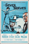 "Movie Posters:Crime, Seven Thieves (20th Century Fox, 1959). One Sheets (5) Identical(27"" X 41""). Crime.. ... (Total: 5 Items)"