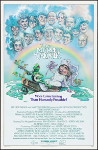"""The Muppet Movie & Other Lot (Associated Film Distributors, 1979). One Sheets (2) (27"""" X 41"""") Drew Str..."""