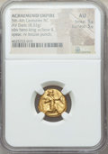 Ancients:Greek, Ancients: ACHAEMENID PERSIA. Time of Darius I to Xerxes II (485-420BC). AV daric (8.33 gm). NGC AU 5/5 - 5/5....
