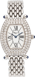 Estate Jewelry:Watches, Chopard Lady's Diamond, White Gold Watch. ...