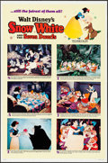 "Movie Posters:Animation, Snow White and the Seven Dwarfs & Other Lot (Buena Vista, R-1967). One Sheets (2) (27"" X 41"") Style B. Animation.. ... (Total: 2 Items)"
