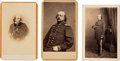 Political:Small Paper (pre-1896), Benjamin F. Butler: Three Cartes de Visite by Anthony/Brady. ... (Total: 3 Items)