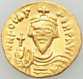 Ancients:Byzantine, Ancients: Phocas (AD 602-610). AV solidus (4.41 gm). About XF....