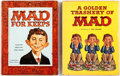Memorabilia:MAD, A Golden Trashery of MAD and MAD For Keeps Group (EC,1958-60).... (Total: 2 Items)