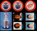 Hockey Cards:Sets, 1984-85 7-Eleven Hockey Discs Complete Set (60) and 1985-86 7-Eleven Plastic Complete Set (25). ...