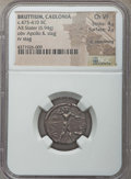Ancients:Greek, Ancients: BRUTTIUM. Caulonia. Ca. 475-410 BC. AR stater (6.94gm). NGC Choice VF 4/5 - 2/5, lt. smoothing....
