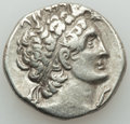 Ancients:Greek, Ancients: PTOLEMAIC EGYPT. Cleopatra III and Ptolemy IX (116/5-107BC). AR tetradrachm (13.38 gm). Choice VF....