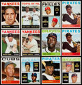 Baseball Cards:Lots, 1964 Topps Baseball Collection with Many Stars (601)....