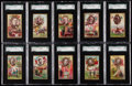 "Non-Sport Cards:Lots, 1898-01 LeRoy Cigars ""Generals"" SGC Graded Collection (20)...."