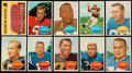 Football Cards:Sets, 1960 Topps Football Complete Set (132)....