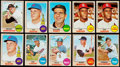 Baseball Cards:Lots, 1968 Topps Baseball High Grade Collection (301) Including Mantle. ...