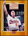 "Autographs:Others, Cal Ripken Jr. Signed ""Sports Illustrated"" Special Collector'sEdition Magazine With Record Breaking ""2131"" Full Ticket & Two..."