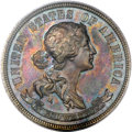 Patterns, 1870 25C Standard Silver Quarter Dollar, Judd-920, Pollock-1024, High R.7, PR64 Brown PCGS. CAC....