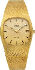Estate Jewelry:Watches, Omega Gentleman's Gold DeVille Watch. ...