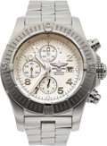 Estate Jewelry:Watches, Breitling Gentleman's Stainless Steel 1884 Chronometre Watch. ...