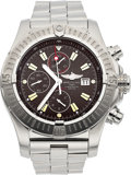Estate Jewelry:Watches, Breitling Gentleman's Stainless Steel 1184 Chronometre Automatic Watch. ...