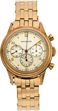 Estate Jewelry:Watches, Movado Gentleman's Gold Chronograph Watch. ...