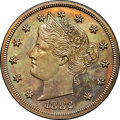 1882 5C Liberty Head Five Cents, Judd-1691, Pollock-1893, High R.6, PR64 Brown NGC. CAC....(PCGS# 62096)