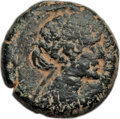 Ancients:Greek, Ancients: PTOLEMAIC EGYPT. Cleopatra VII (51-30 BC). AE 80 drachmae(11.74 gm). Fine, tooled, repatinated....