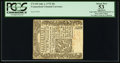 Colonial Notes, Connecticut July 1, 1775 20s PCGS Apparent About New 53.. ...