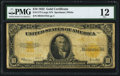 Large Size:Gold Certificates, Fr. 1173 $10 1922 Gold Certificate PMG Fine 12....
