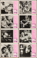 """Movie Posters:Drama, The Night of the Iguana (MGM, 1964). Overall: Very Fine-. LobbyCard Set of 8 (11"""" X 14""""). Drama.. ... (Total: 8 It..."""