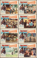 "Movie Posters:Elvis Presley, Roustabout (Paramount, 1964). Lobby Card Set of 8 (11"" X 14"").Elvis Presley.. ... (Total: 8 Items)"