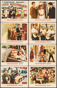 """Hootenanny Hoot (MGM, 1963). Very Fine-. Lobby Card Set of 8 (11"""" X 14""""). Musical. ... (Total: 8 Items)"""