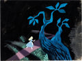 Animation Art:Production Drawing, Alice in Wonderland Alice Painted Il...