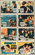 "The Key & Other Lot (Columbia, 1958). Lobby Card Sets of 8 (2 Sets) (11"" X 14""). Romance. ... (Total:..."