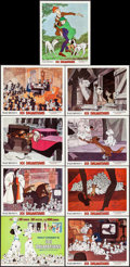 "Movie Posters:Animation, 101 Dalmatians (Buena Vista, R-1969). Lobby Card Set of 9 (11"" X 14""). Animation.. ... (Total: 9 Items)"